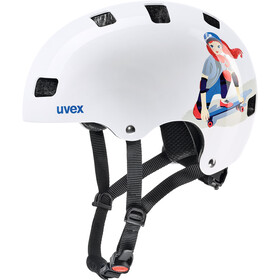 UVEX Kid 3 Helmet Kinder white skate